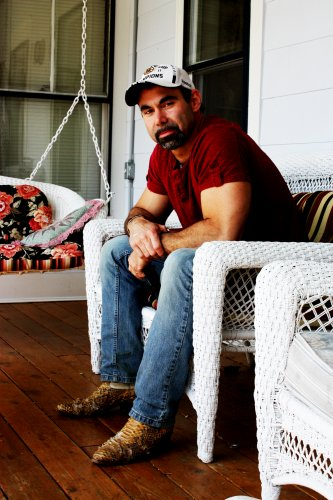 Rory Scott Thurston, live from his front porch.