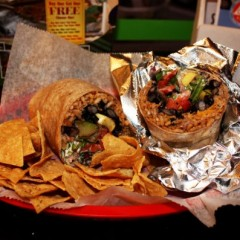 We get a sneak preview of the burrito that bears our name