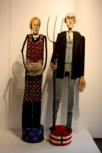 """American Gothic – Labor Day the Harvest,"" Jim Lambert"