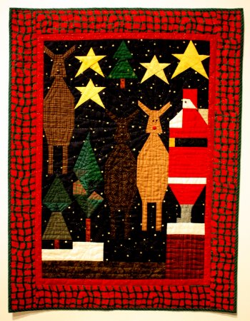 """Rudolph With Your Nose So Bright,"" Linda Dunning."
