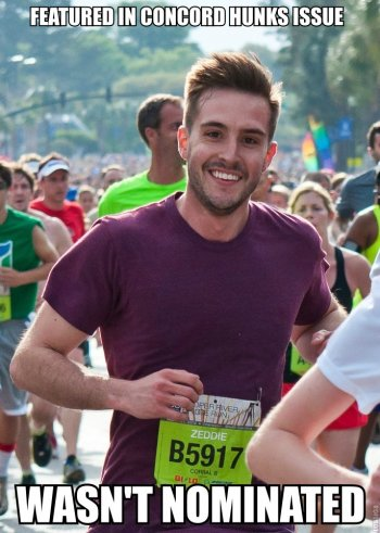 Ridiculously Photogenic Guy: He always looks great, no matter what the situation.
