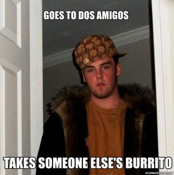 Scumbag Steve: On a mission to do the sketchiest thing possible.