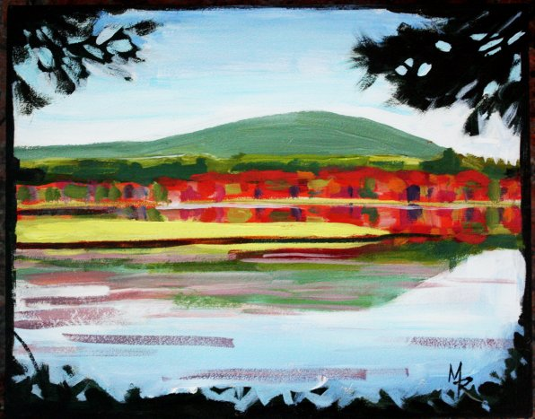 """Turkey Pond, North Side,"" Mark Ruddy."