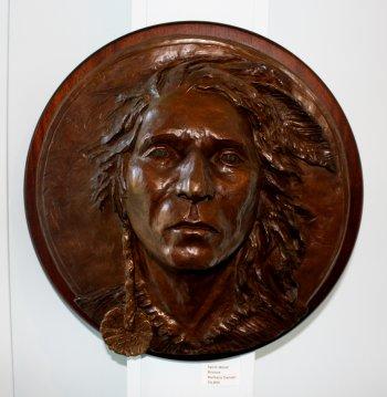 """""""Spirit Wind,"""" Barbara Danser, bronze."""