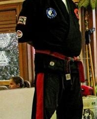 Martial arts master reaches milestone