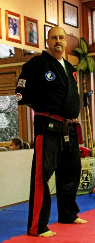 Martial arts instructor Matt Brown was recently promoted to 9th degree black belt – one of the highest stations in martial arts.