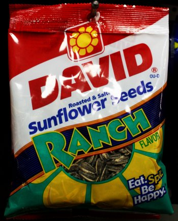One thing on a lot of people's doomsday preparation lists is seeds. Once the whole apocalypse thing blows over, you'll need to plant some crops to sustain life on Earth. We found these sunflower seeds at Red and Gold – can't wait to harvest a bumper crop of ranch-flavored sunflowers!