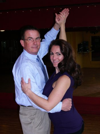 "<strong>John Duval and Stephanie Mills</strong></p><p>Concord police Chief John Duval and chiropractor Dr. Stephanie Mills form a duo that we like to call ""Baby's Got Backup."" They both confess to having minimal ballroom dancing training prior to this event, but they are ready to take on all comers. Duval said they are taking their training seriously – with a little fun along the way, of course. ""It's a wonderful community event that raises money in a fun and entertaining way,""said Duval. ""I'm sure everyone will be fabulous!"" said Mills."