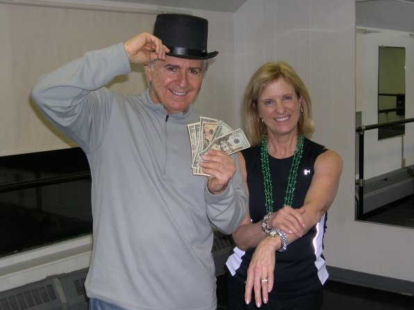 <strong>John Thomas and Susan Lynch</strong></p><p>Former first lady of New Hampshire Susan Lynch and John Thomas of Lincoln Financial Group know a little something about putting on the ritz. As you can see from the photo, the fundraising has already begun! The proceeds from this event go toward NHTI improvements to make the college a more effective place to for students to learn. Things like technology and equipment for the technical majors like nursing, hiring new faculty and providing financial aid for students all start with a few dips and twirls.