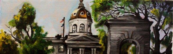 """""""Capitol Building,"""" Joel Van Patten."""