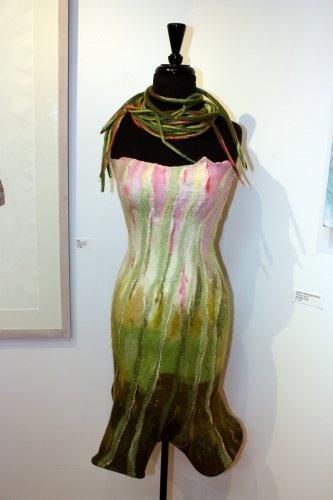 """Jack-in-the-pulpit Dress,"" Annette Frye."