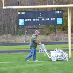 General Services gives Memorial Field a face-lift
