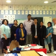 Concord educators go international to aid Dubai reading center staff