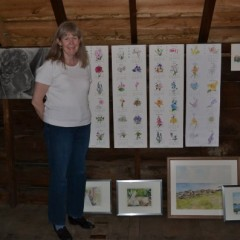Cathy Kaplan carving out time for art – and donating to the auction