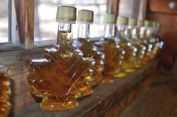 Syrup at Mapletree Farm.