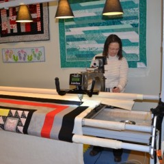 Planning on making a quilt? Then check out these two local shops