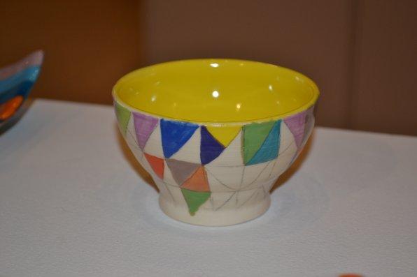 Small Geometric Dish, Soderberg.