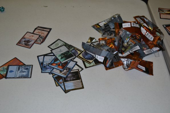 The aftermath of a draft.