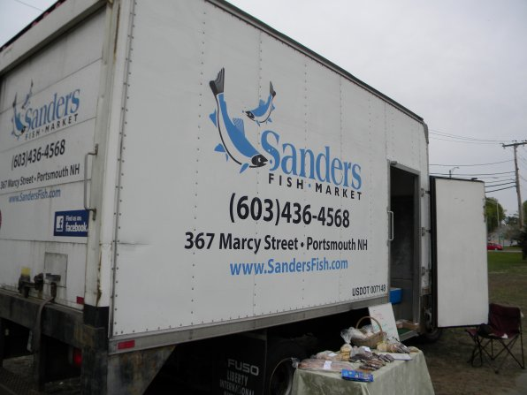 There's something fishy about that truck . . . oh yeah, it's all the delicious seafood that travels inside it to the Everett Arena parking lot every week. Stop by and check it out for yourself!