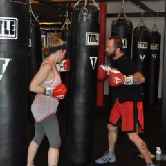 The only thing you'll get hit with at Title Boxing Club is the fitness bug