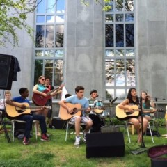 Grab a blanket and pull up some lawn for the library's music series