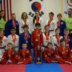 Capital City Tae Kwon Do students clean up at Massachusetts tourney