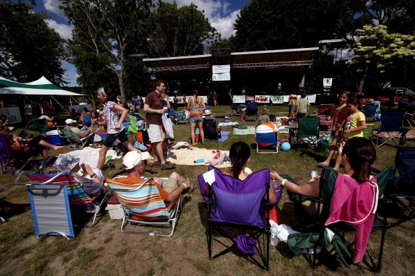 The Granite State Music Festival ticks all the summer festival boxes. Comfy lawn chairs? Check (note: these need to be provided by you.) Awesome music? Check. This preview story telling you to go there? Check.