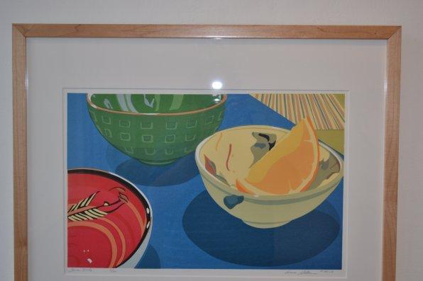 Three Bowls, Anne Silber.