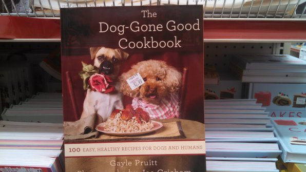 Remember when dog food came in giant bags and you could get it at the pet store? Well, now you have to cook it. They say that over time people and their dogs start looking alike, so maybe it's the inevitable next step that they start dining together.