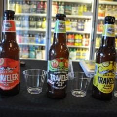 We traveled to Barb's to check out these summery Traveler brews