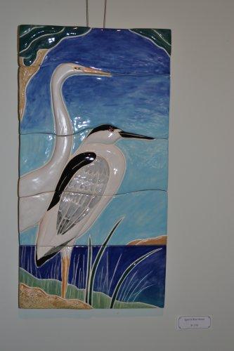 Egret & Blue Heron.