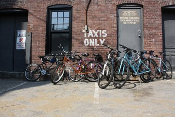 Man, look at all dem bicycles. Come find your next ride at the bike swap this weekend.