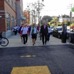 Take a walk next week with the mayor