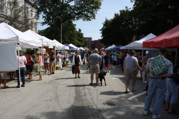 Capitol Street was once again packed with people of all ages and dogs of all breeds for the Concord Farmers Market, which runs until the last Saturday in October.