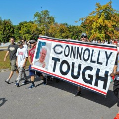 It's time to buy your Connolly Tough T-shirts and go for a walk