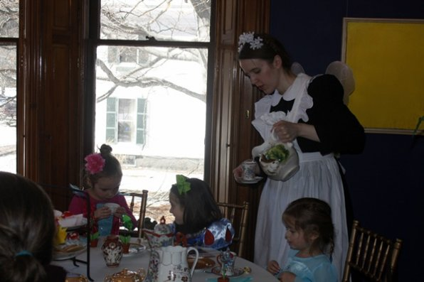 It's going to be a fairy wonderland at the Kimby-Jenks this Sunday, complete with a tea party, fairy house building and story time. We know, it's hard for us to contain our excitement, too.