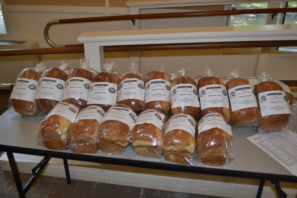 You can also get fresh bread for an added fee to your membership.