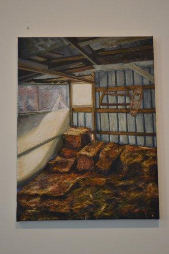 Barn Interior, Ellen Jackson.