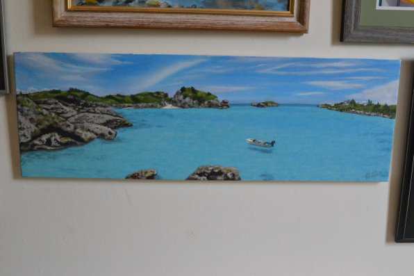 St. George Bay, Alicia Rhoades.