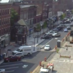 Construction project pulls the old switcheroo on Main Street traffic
