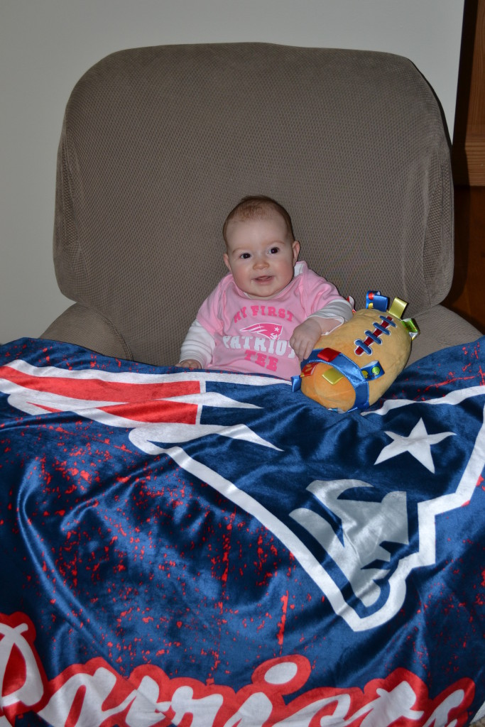 Turns out Sophie, Tim's daughter, was the good luck charm the Patriots needed to win another Super Bowl. While it took her dad over 20 years to see the Pats win, Sophie only had to wait 4 months.