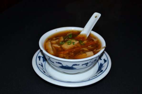 Beijing & Tokyo. hot & sour soup.