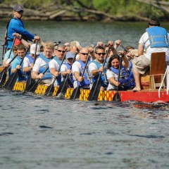 It's gonna be a dragon boat takeover on the river this weekend