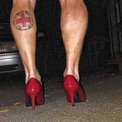 Put on those pretty high heels and Walk A Mile in Her Shoes