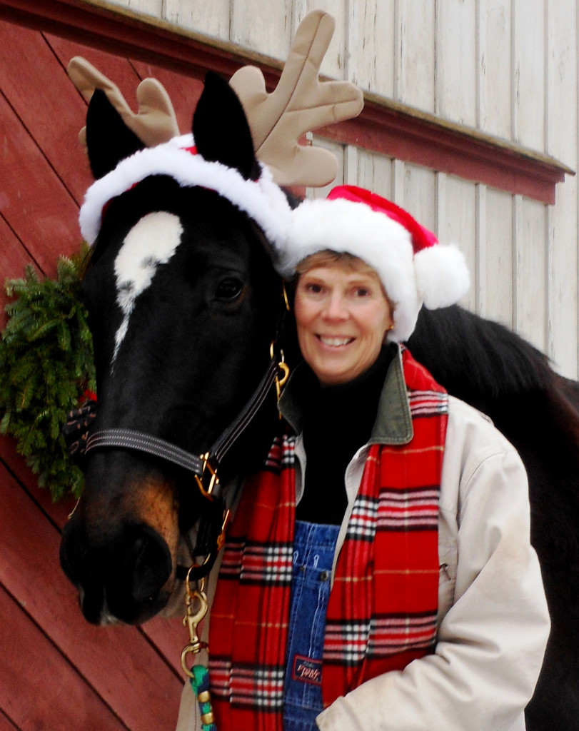 Looks like Susan Reider's got her horse, Gracie, all dressed up for the holidays. Send your photos to news@theconcordinsider.com.