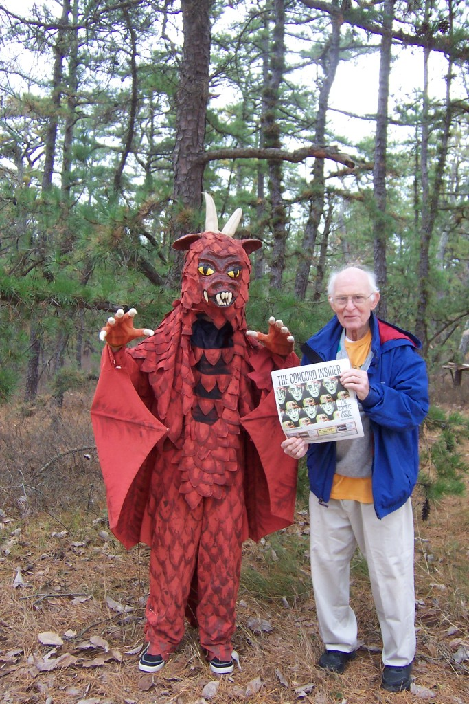 "Our former Nature 101 columnist Paul Basham relocated to New Jersey, and believe it or not, he ran into the Jersey Devil out in the Pine Barrens! Paul told us: ""According to ancient folk lore, unfortunate things happen whenever there is a sighting of the Jersey Devil, and two days later Hurricane Sandy slammed into the Jersey coast."""