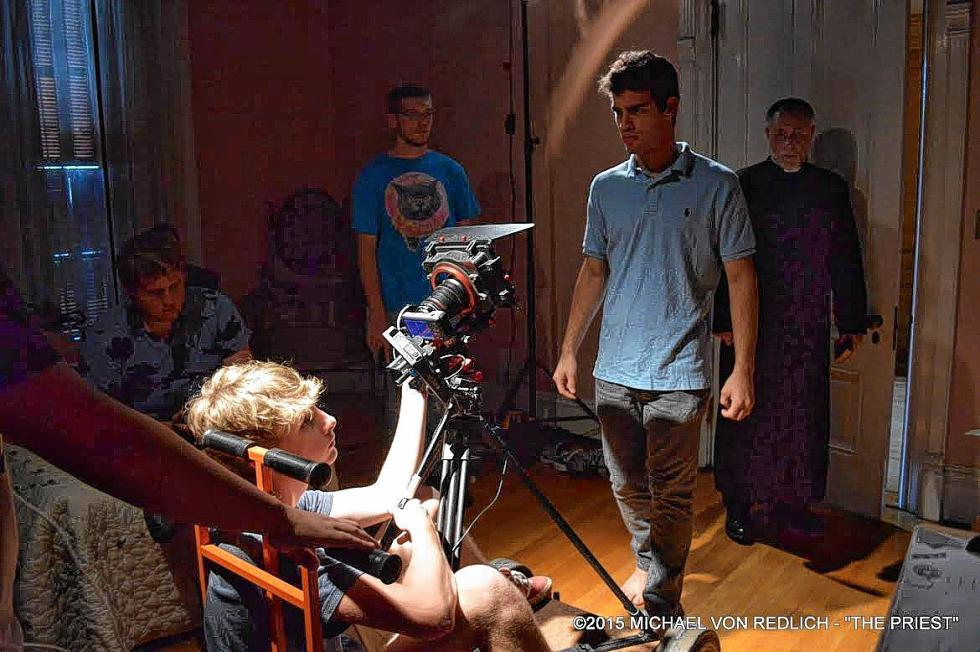 That's Pedro Pimentel doing the whole directing thing. (MICHAEL VON REDLICH / For the Insider) -