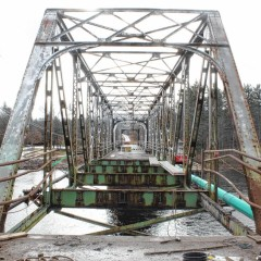 Saying goodbye to the Sewalls Falls Bridge after 100 years together