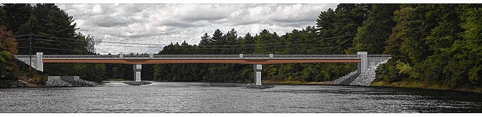 A rendering of what the new Sewalls Falls Bridge will look like. (Courtesy of SewallsFallsBridge.com) -