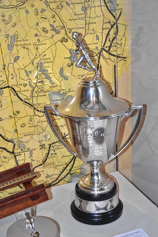 Mount Washington Carriage Road Run Cup Trophy, 1937. (TIM GOODWIN / Insider staff) -